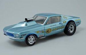 Échantillon 1:18 Gmp 1967 Ohio George Malco Gasser Mustang