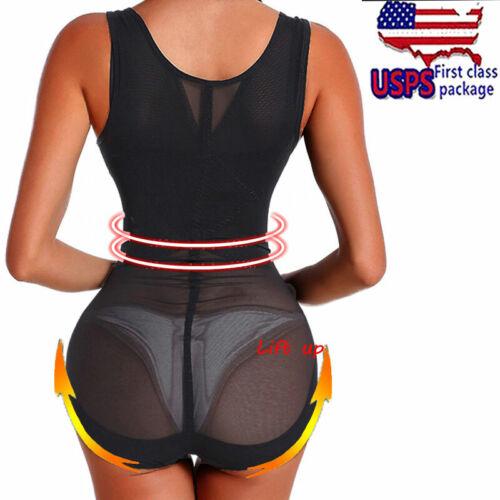 Full Bodysuit Body Shaper Romper Butt Lift Tummy Control Underwear Lingerie Slim
