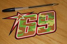 Nicky Hayden Camo 2013 Race Number (Medium)