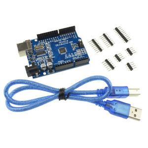 UNO-R3-ATmega-328P-carte-de-pilote-USB-CH340G-et-cable-USB-gratuit-pour-Arduino
