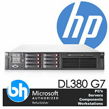 HP Twin Quad Core Xeon E5620 2.40GHz ProLiant DL380 G7 24GB DDR3 RAM Server