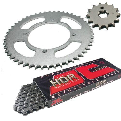 JT HDR cadena piñón kettenkit rueda dentada piñón Kawasaki KX 80 85 13-51
