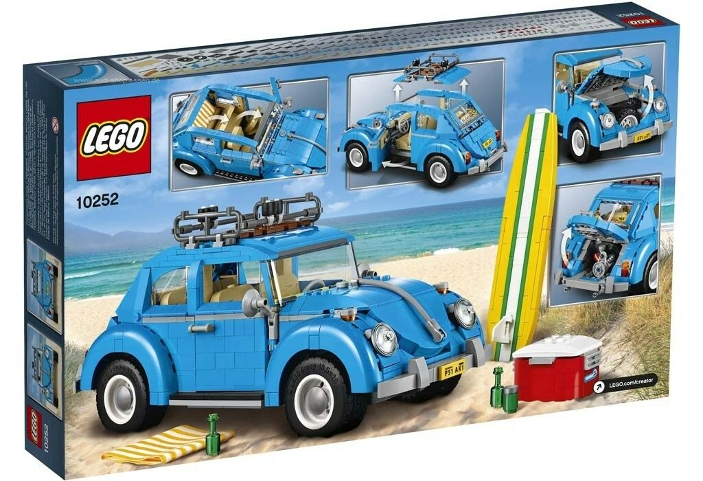 Original VW LEGO® Creator Käfer in Blau NEU