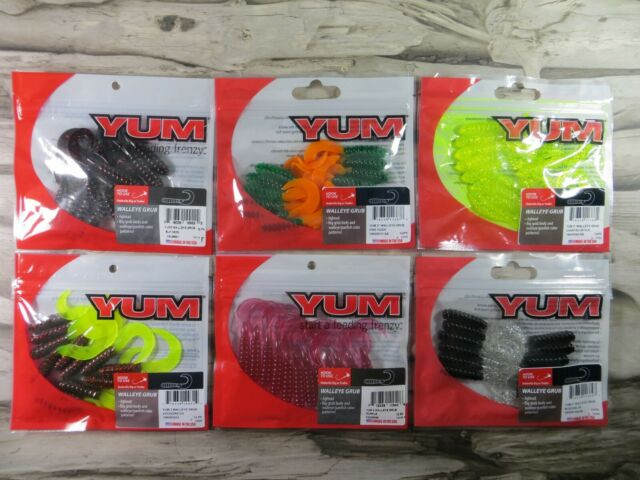 """5 PACKAGES TROUT BASS ARKIE 2.5/"""" CURLY TAIL MINNOW CRAPPIE"""