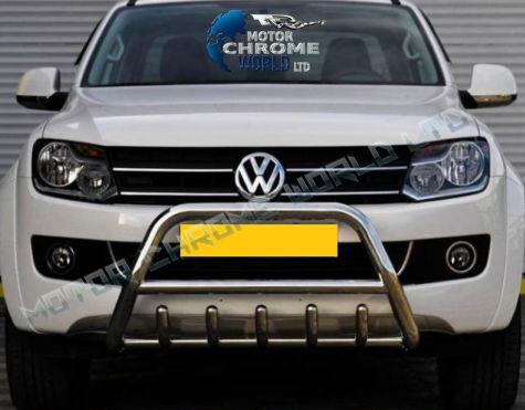 VW VOLKSWAGEN AMAROK BULL BAR CHROME AXLE NUDGE A-BAR 60mm 2010+Up ON OFFER NEW