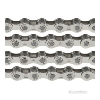 Miche Catena Pista Track 1//2 in x 1//8 in x 100 Links Bike Bicycle Cycling Chain