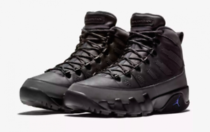 Nike MEN'S Air Jordan 9 IX Retro Boot NRG Black Concord SIZE 7.5 BRAND NEW 3M