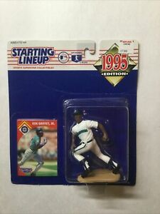 Ken Griffey Jr. Starting Lineup 1995 Edition On Card Sealed MLB Kenner
