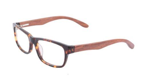 Anti Fatigue Eyewear Acetate Wood Optical Frame Anti Blue Light Reading Glasses
