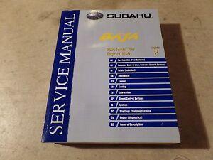 2006 subaru baja factory service manual covers h4s0 engine ebay rh ebay com subaru baja repair manual pdf Subaru Sumo
