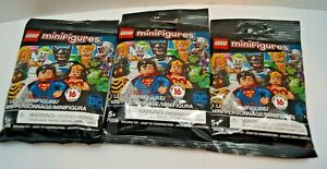 Lego Minifigure DC Comics Universe Blind Bag Lot of 8 71026 NO DUPLICATES!!