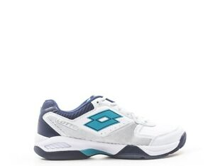 Scarpe-LOTTO-Uomo-Tennis-Uomo-BIANCO-PU-Tessuto-210737-1KC