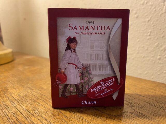American Girl Hallmark SAMANTHA Charm NEW IN BOX