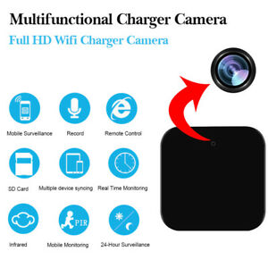 HD-Mini-Camera-IP-Wifi-Chargeur-1080P-Espion-Camescope-Video-Vision-Nocturne-FR