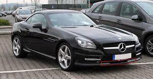 Neuf Véritable Mercedes Benz SLK / Slc-Class R172 Avant Pare-Choc Bas Centre OEM