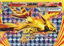 x1 Talonflame BREAK - 21/114 - Rare BREAK Pokemon XY Steam Siege M/NM