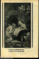 St. Joseph--Hl. Familie--Matth. Schistl --Zeitungsausschnitt von 1926-