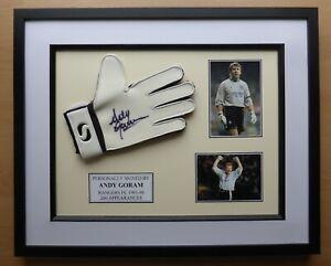 Andy-Goram-Signed-amp-Framed-Rangers-Glove-Career-Display-16552