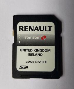 Renault SD Card Satellite Navigation Sat Nav 25920 4051R UK IRELAND