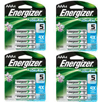 Energizer Aaa Rechargeable Batteries 4 Pack, 4 Count = 16 Batteries on Sale