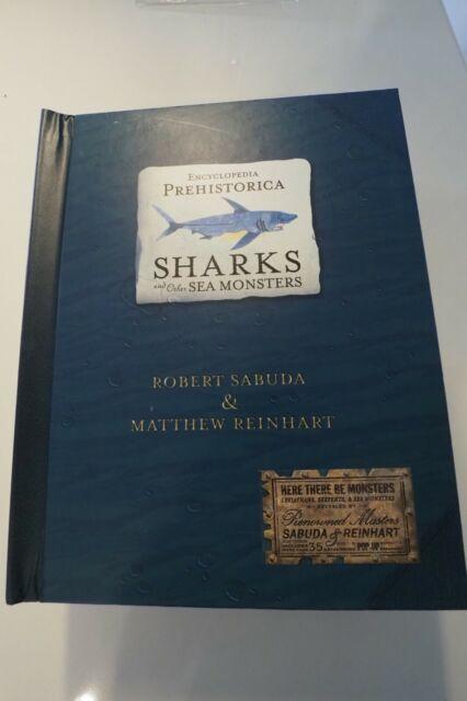 2x Signed 1st/1st Popup SHARKS & SEA MONSTERS Robert Sabuda Matthew Reinhart NEW