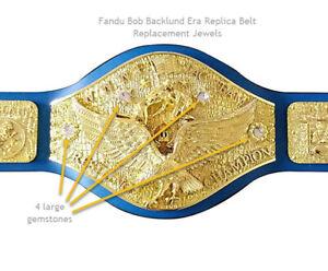 Fandu-Backlund-Era-Replica-Belt-Replacement-Jewels-Stones-Blue-and-Clear