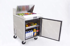 New 1 Door 28 Refrigerated Prep Table Stainless Steel Nsf Atosa Msf8301gr 2224