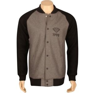 250-00-Diamond-Supply-Co-Brilliant-98-Varsity-Jacket-grey-black-C13C402GBK