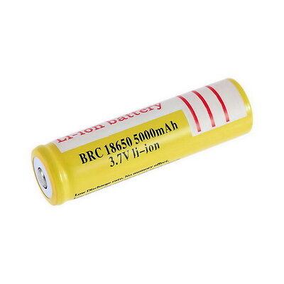 18650 3.7V 5000mAh Li-ion Rechargeable Li-ion Battery for Led Flashlight DT