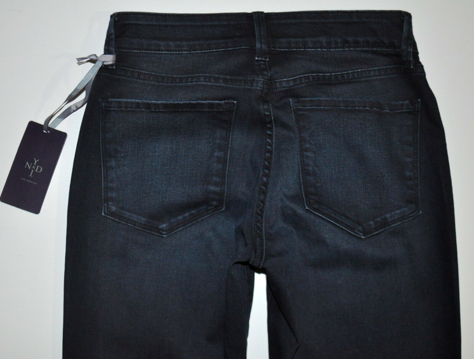 NEW NYDJ Not Your Daughter's Jeans Dark bluee Barbara Bootcut Sz 6 X 32.5 SAMPLE