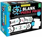 Write on Wipe off 52 Blank Puzzles Pieces by Sherrill B Flora Book