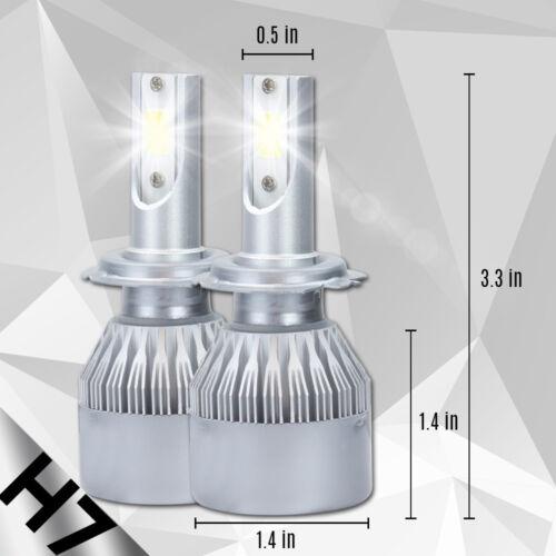 XENTEC LED HID Headlight Conversion kit H7 6000K for Lexus ES300 1997-2003