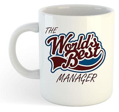 Manager World/'s Best Novelty Gift Mug shan992