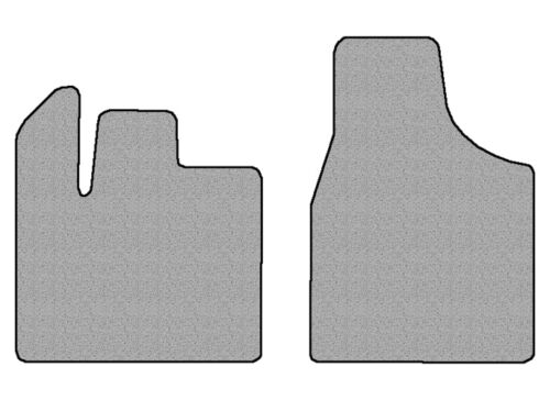 2012-2016 Chrysler Town /& Country 2 pc Front Factory Fit Floor Mats