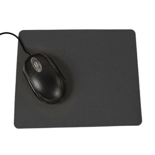 1×Anti-Slip Optical Mousepad Mats Gaming Laptop Ultra-thin Mouse Pad Solid New