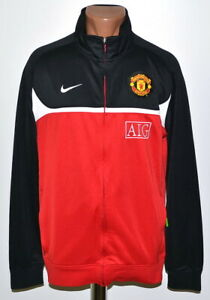 353f7f9a776 Image is loading MANCHESTER-UNITED-2010-2011-TRAINING-FOOTBALL-JACKET-JERSEY -