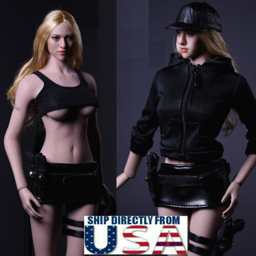 "1//6 Women Tactical Jacket Set For 12/"" Phicen Hot Toys Female Figure U.S.A."