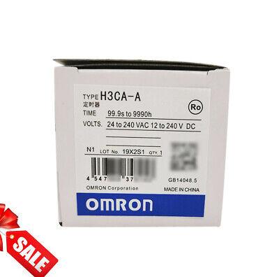 1PCS Omron Timer H3CA-A H3CAA 24-240VAC//VDC New in box