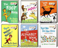 Dr. Seuss Mr Brown Can Moo,wocket Pocket,put Me In The Zoo,shape 6 Board Books