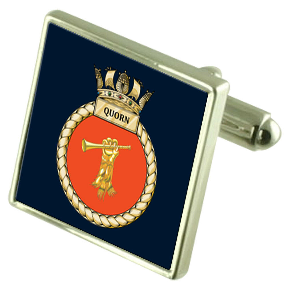 Royal Navy HMS HMS HMS quorn Gemelli argentoo Sterling 3b6d9e