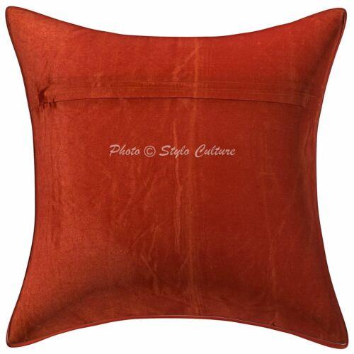 Brocade Elephant Cotton Boho Kissenbezug Brown 16x16 Kissenbezug Throw