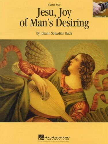 Jesu Joy of Man/'s Desiring Sheet Music Guitar Solo Guitar Sheet NEW 000663020