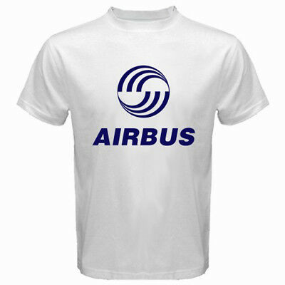 New Cessna Aircraft Company Logo Men/'s White T-Shirt Size S to 3XL