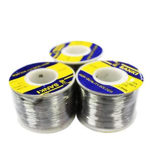 SANKI solder wire 250g 60/% Tin Lead Line Rosin Core Flux Solder Soldering