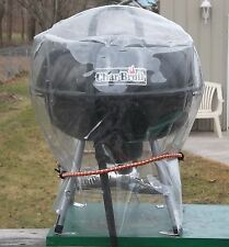 NEW CLEAR HEAVY VINYL PLASTIC  BAR B QUE, GRILL AND OTHER APPLIANCE  COVERS