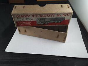 DINKY SUPERTOYS 501 FODEN DIESEL 8 ruota di carro solo