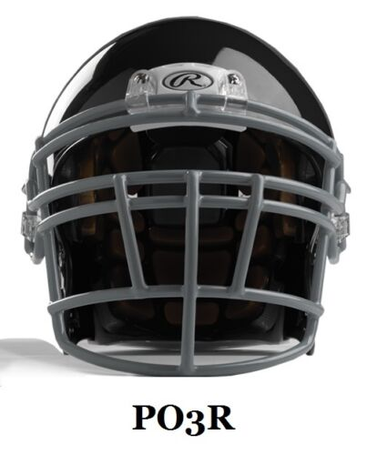 New 2015 Rawlings NRG Quantum helmet//facemask red small adult faceguard football