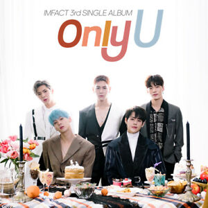 IMFACT-ONLY-U-3rd-Single-Album-CD-POSTER-Photo-Book-Photo-Card-K-POP-SEALED