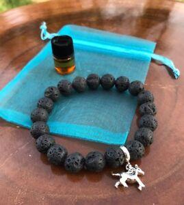Black lava healing bracelet