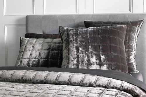 SHERIDAN Canfield Bed Cover Super King|KingQueen Bed size in Charcoal